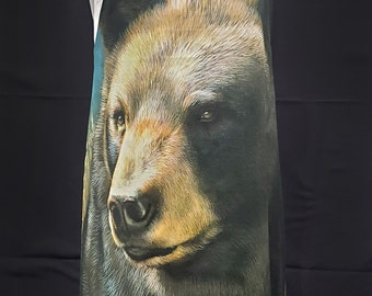 Bear Face (with LINING!) Gayprons By Lynn - Fashionable Aprons for Everyday