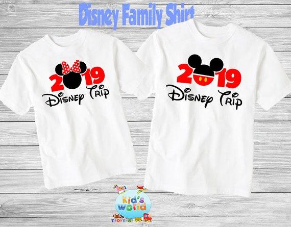 Disney Family Shirts 2019 Iron ON