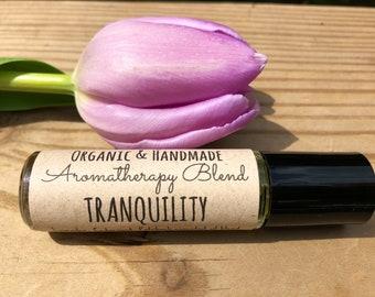 Tranquility • Aromatherapy Blend • Stress, Mood, Tension, etc. • Organic