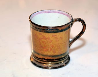 Golden Demitasse Cup
