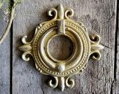 Metal Door Knocker, Front Door Decor, Cottage Decor, Cast Iron Knocker, Door Art