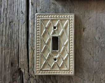 unique light switch plates rustic switch plate single light switch switchplates switch cover shabby chic wall plate lighting decor metal home decor switchplates etsy