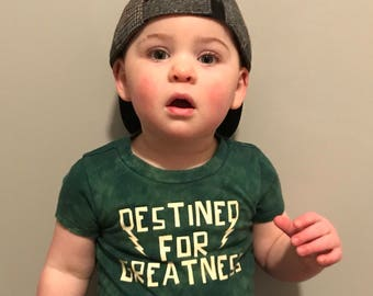 Destined For Greatness Boys Graphic Tee, Cool Boys Tee, Graphic Tees for Kids, Boys Fashion, Fashionable Boys Clothes, Hipster Baby Clothes,