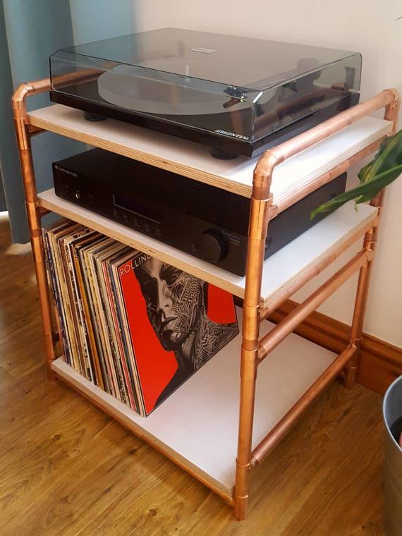 handgemachte deluxe vinyl plattenspieler plattenspieler lp etsy. Black Bedroom Furniture Sets. Home Design Ideas