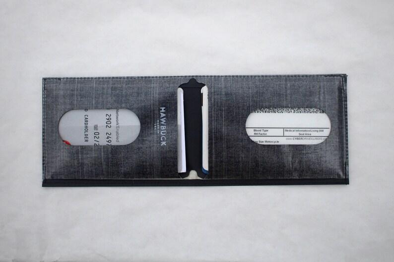 aea200c036cca Hawbuck Lean Wallet, Dyneema Composite Fabric Hybrid, Black, USD