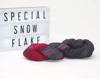 Special Snowflake - Hand Dyed Merino/Silk Yarn