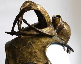 headdress octopus / helmet / fantasy / sea / larp
