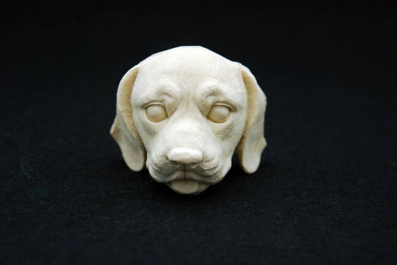 Dog face#3 Silicone Mold Mould Sugarcraft Candle Soap Chocolate Polymer Clay Melting Wax Resin Tools Ornament Handmade