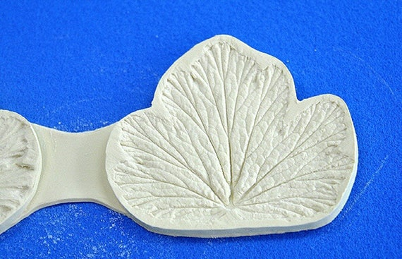 Silicone Mold Chocolate Polymer Clay Jewelry Soap Melting Wax Lily Leaf #1