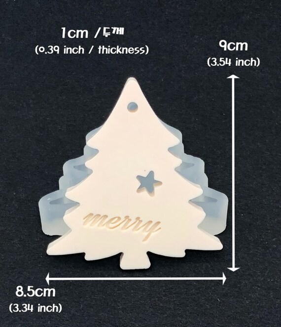 2D Snowflake Silicone Mold Mould Sugarcraft Candle Soap Chocolate Polymer Clay Melting Wax Resin Tools Ornament Handmade hole