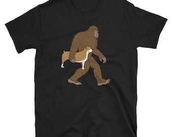 28cbabce English Bulldog Bigfoot Sasquatch T-Shirt, Funny English Bulldog Shirt,  Cute English Bulldog Gift, Bulldog Dog Tee