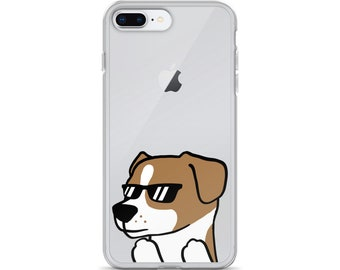 Sunglasses Jack Russell Terrier iPhone Case,  Funny Jack Russell Terrier Phone Case, Cute Jack Russell Terrier Gift