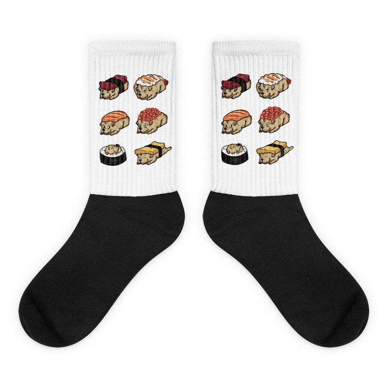 Shar Pei Sushi Socks Funny Shar Pei Gift Shar Pei Dog Socks