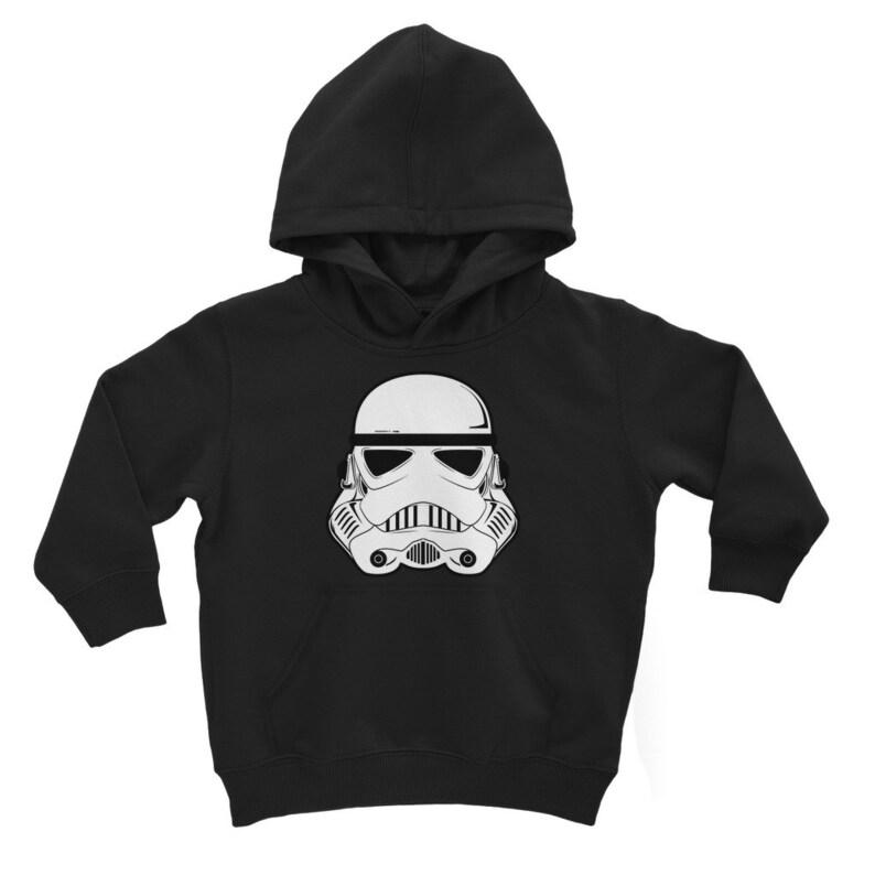 Storm Trooper Star Wars Classic Kids Hoodie Perfect Mandalorian fan Gift Childrens Hoody