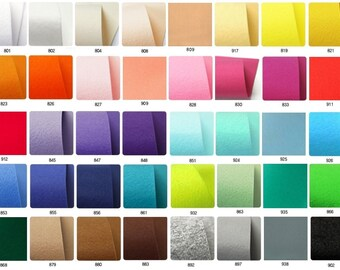 High quality Korean hard felt Buy 10 sheets and get 1 FREE FREE!!