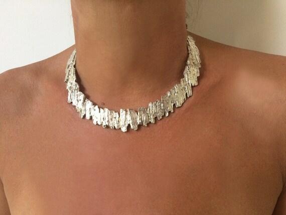 BERE VINTAGE necklace necklace brutalist necklace