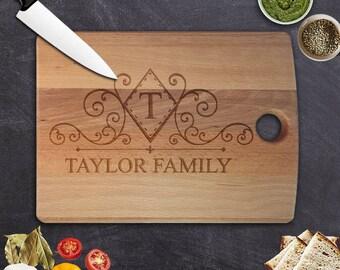 Personalized Custom Cutting Board, wedding gift Cutting Board No:10
