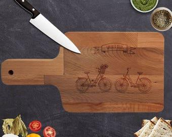 Personalized Custom Cutting Board, wedding gift Cutting Board No:14
