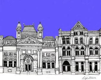 PRINT Architectural Illustration