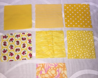 Ready cut patchwork squares