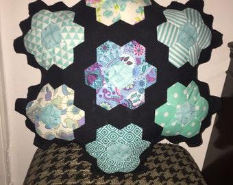 Handsewn Patchwork Cushion