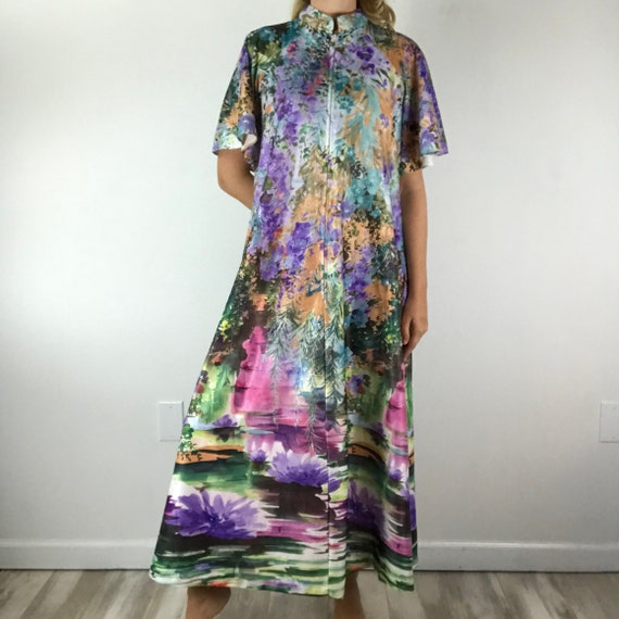 Vintage 70's Butterfield 8 Caftan Hostess Gown Lou