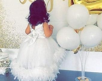 Girl Kitty Cat Diamante Sparkle Baby Grow Tutu Headband FANCY DRESS Costume KIDS