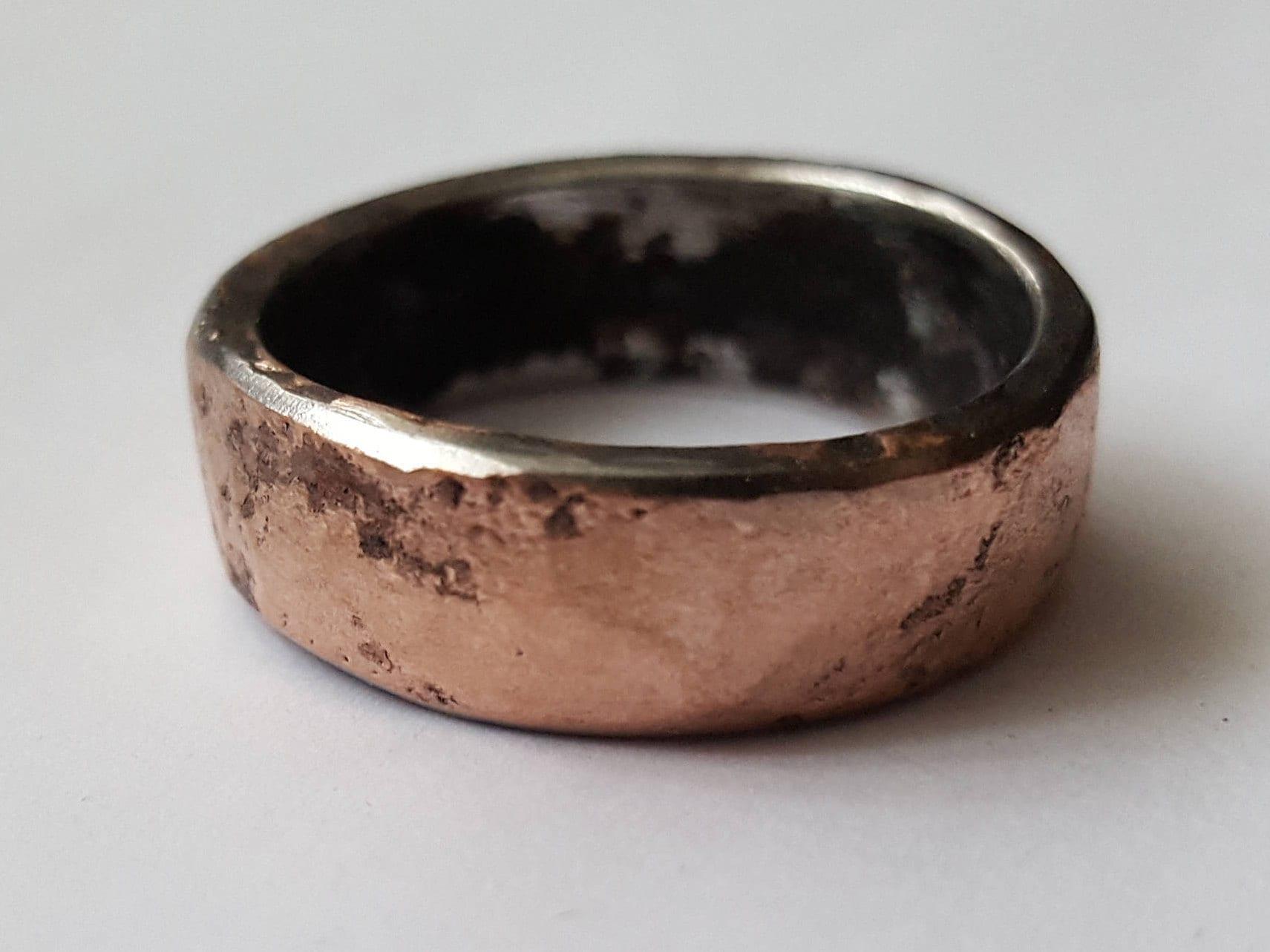 50: Wedding Ring Forged Iron At Reisefeber.org