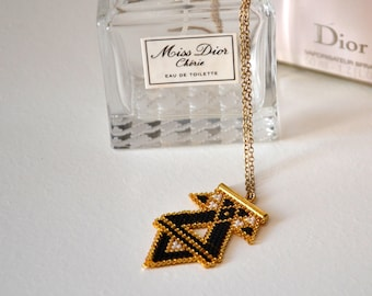 Obsession _ pendant Black Gold collection