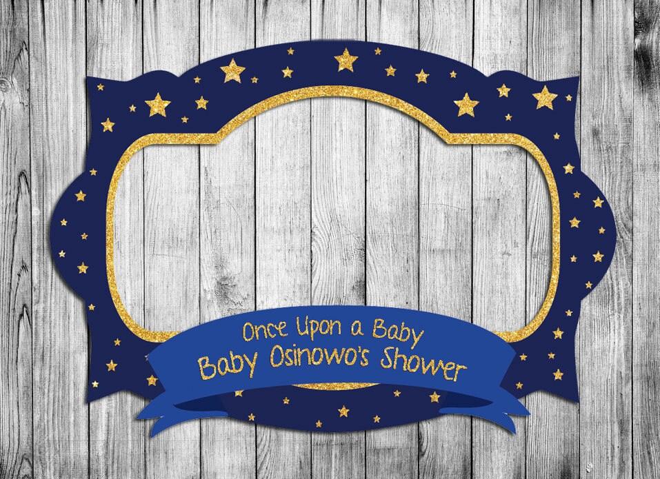 Baby Shower Rahmen Geburtstagsfeier Stand Bilderrahmen