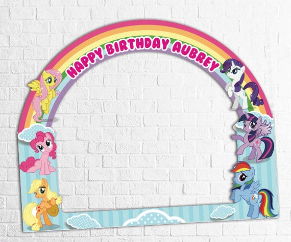 Little Pony Baby Shower Frame Little Pony Baby Shower Party Photo