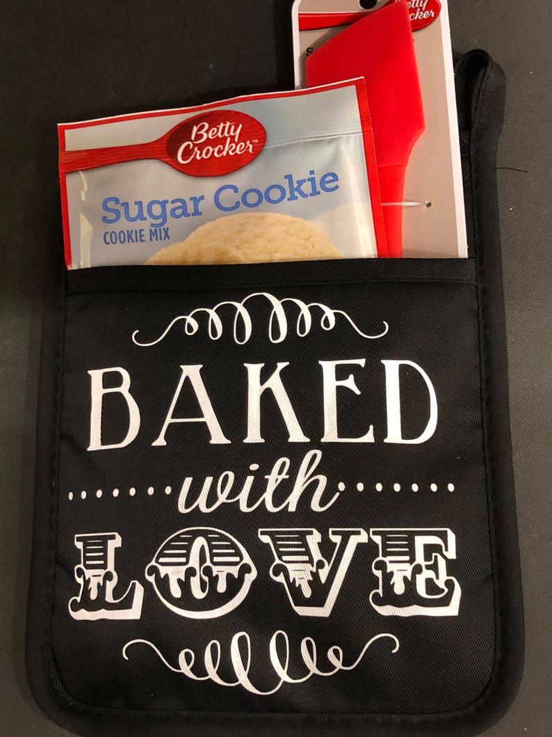 Baked with Love Oven Mitt Set