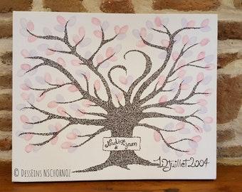 "Table ""Fingerprint tree"" 38 X 46"