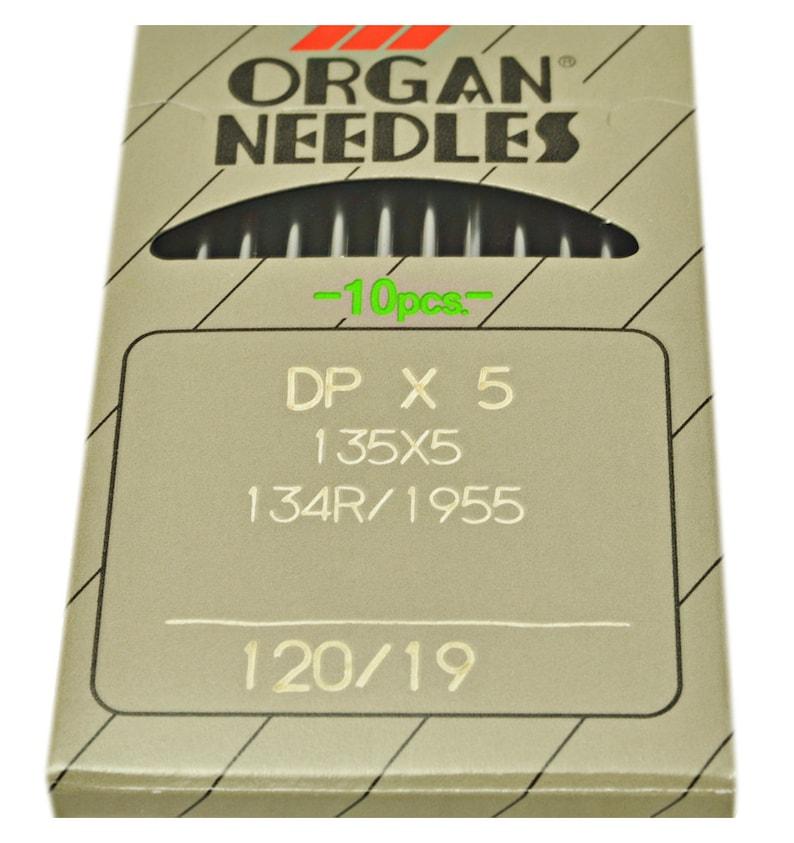1955 SIZE:80 12 INDUSTRIAL SEWING MACHINE NEEDLES ORGAN DP X 5 135 X 5 134 R