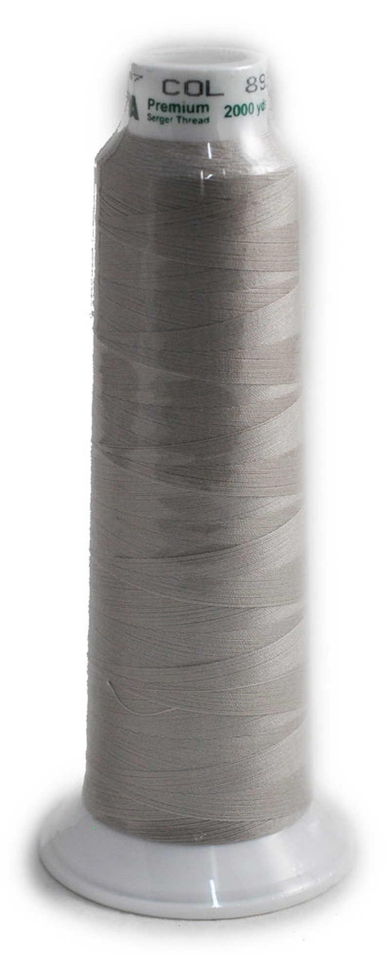 Madeira Poly Beige 2000YD Serger Thread   91288938