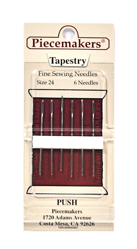 No.12-T24 10/% Off Piecemakers Tapestry Needles Size 24