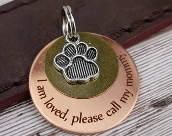 designer dog tag etsy