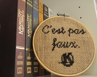 Kaamelott cross stitch