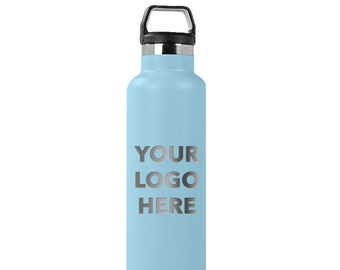 RTIC Customized 26 oz Vacuum Insulated Engraved Water Bottle| Personalized | Decorative Tumbler Customized Logo