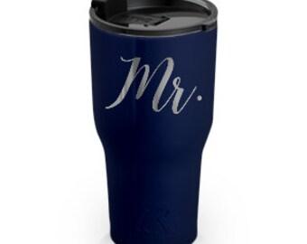 Mr. | Groom | Wedding | Vacuum Insulated Tumbler