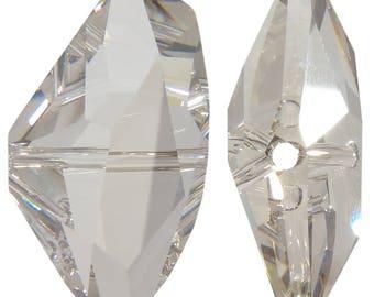 1xSwarovski ®5556Galactic Vertical bead 24mm Crystal