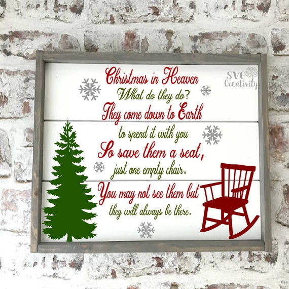 Christmas In Heaven Svg.Christmas In Heaven What Do They Do Svg Christmas In Heaven Svg