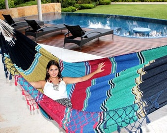 Hammocks handcrafted fresh and comfortable king Size cotton 100%