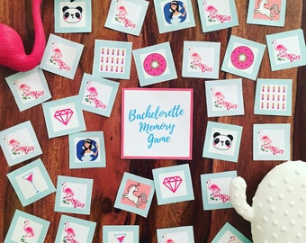 MEMORY GAME for BACHELORETTE Party!