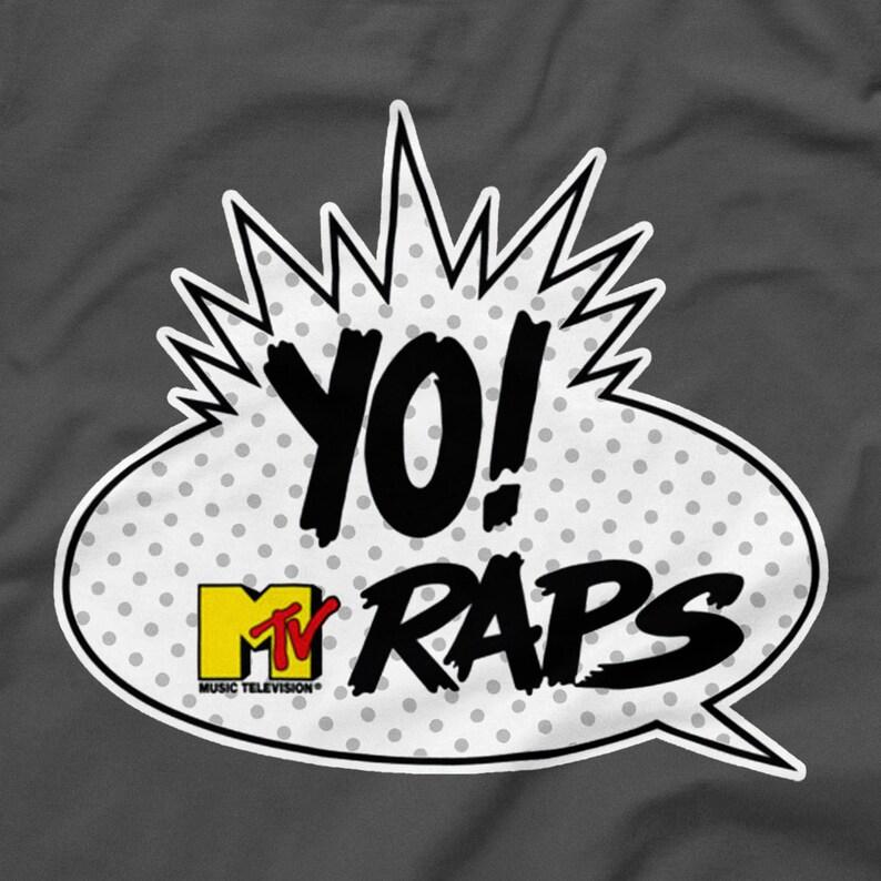 6b8ccd5f2 Yo MTV Raps Logo Shirt Gray Grey Size S M L XL 2XL 3XL 4XL | Etsy