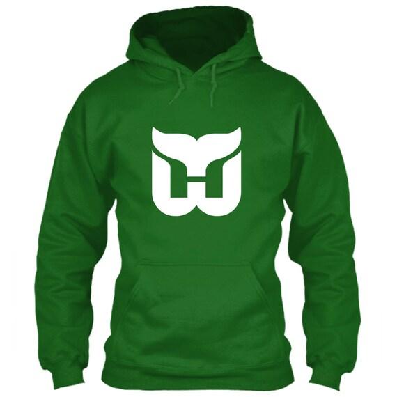 Hartford Whalers Hoodie Green Size S M L XL 2XL 3XL 4XL 5XL  7da6a6128