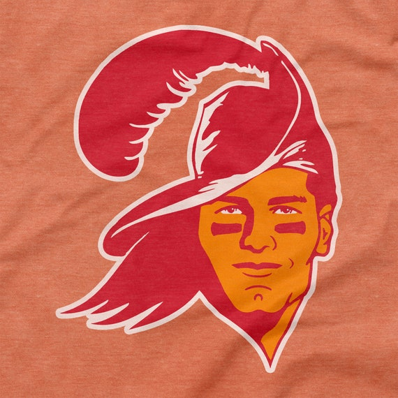 Tom Brady Playoffs Shirt Tampa Bay Buccaneers Retro Logo Etsy