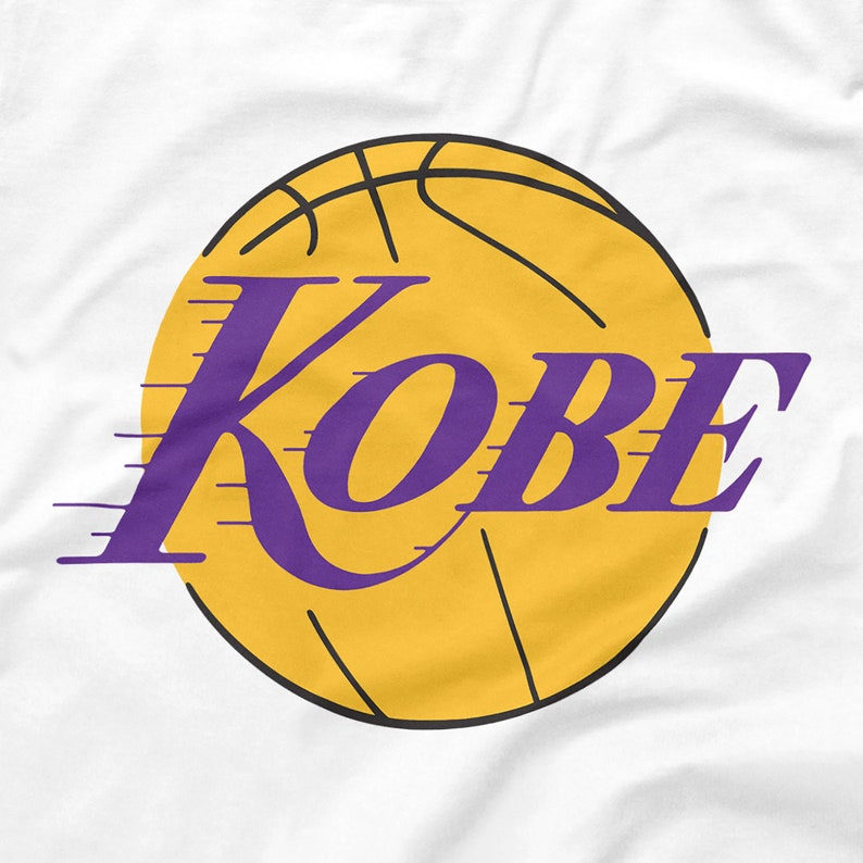 Kobe Bryant Shirt Los Angeles Lakers Logo Parody Black ...