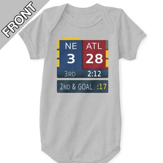 New England Patriots Baby Bodysuit 28-3 Super Bowl LI 51  5a2d86244