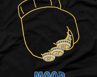 Golden State Warriors Shirt Draymond Green Parade Arthur Fist Three 3 Rings Mood LeBron James Black Size S M L XL 2XL 3XL Oakland NBA Champs